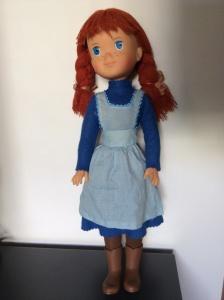 bambola capelli rossi