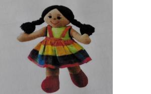 bambola pezza