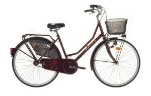 bici donna con cestino