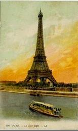 cartolina illustrata Parigi