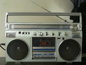 radioregistratore vintage